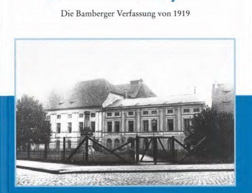 Die Bamberger Verfassung von 1919